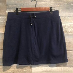 Croft and Barrow Navy casual skort M